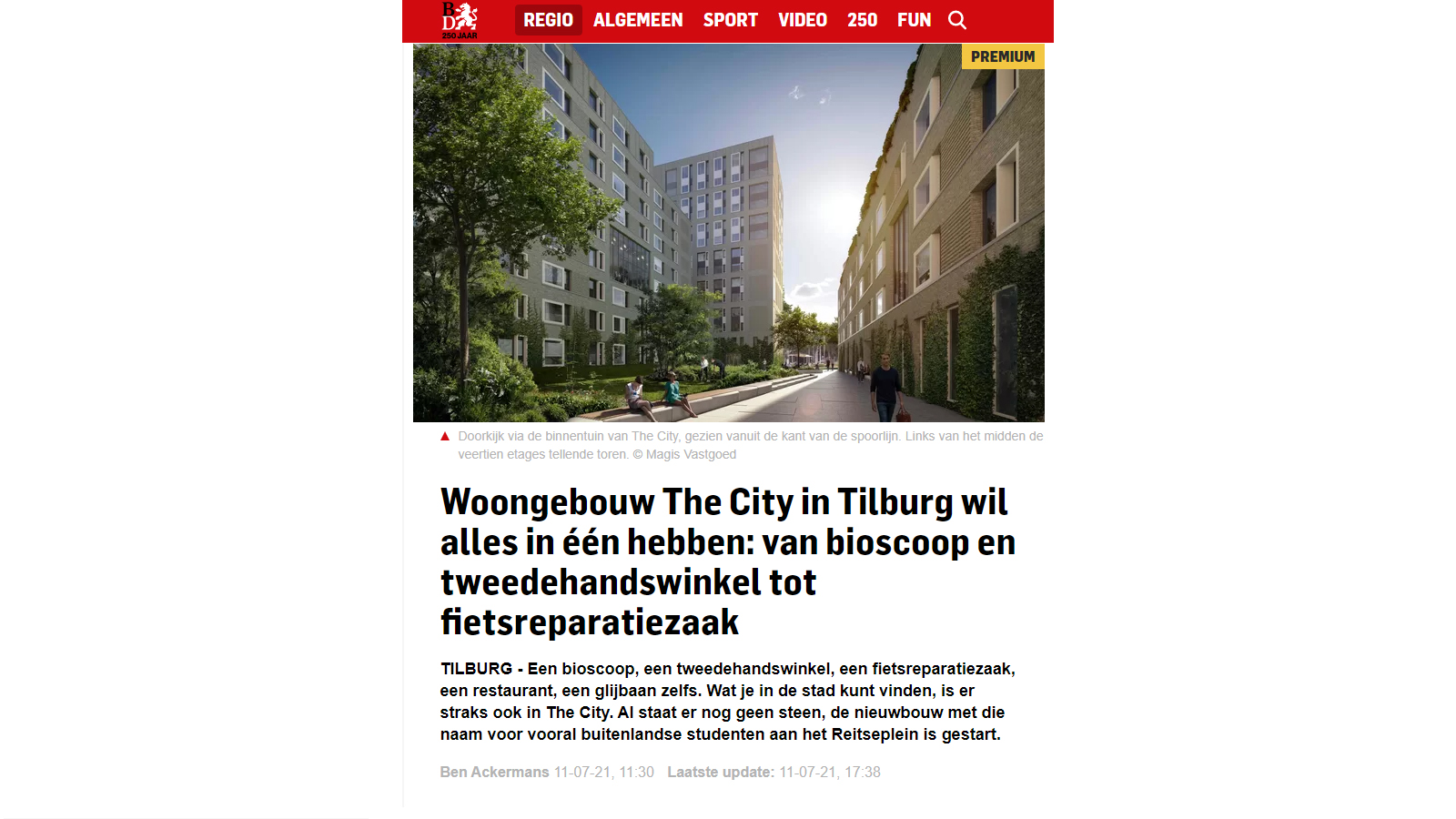 BD - 210711 Woongebouw The City Tilburg Reitseplein.jpg
